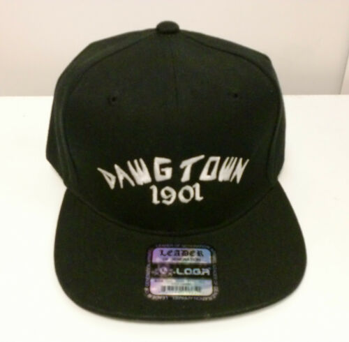 DAWGTOWN 1901 SNAP BACK BLACK /& NAVY HAT