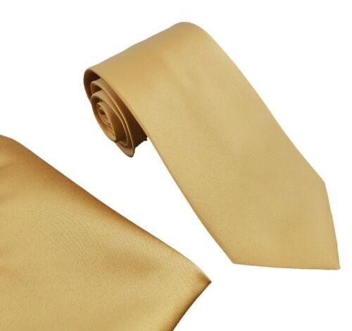 Men/'s Designer Neck Ties With Matching Pocket Square Satin Finish UK Branded