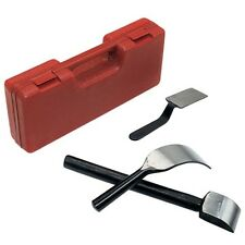 3pc Body and Fender Spoon Set w/ Molded Storage Case - Car Body Dent Repair Tool