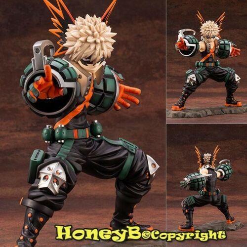 Japanese Anime My Hero Academia Katsuki Bakugo 1//8 Collectable Statue Figure Toy