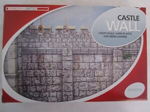 Rendera-Castle-Wall-Section-28mm-1-56-Wargaming-Scenery-Hard-Plastic