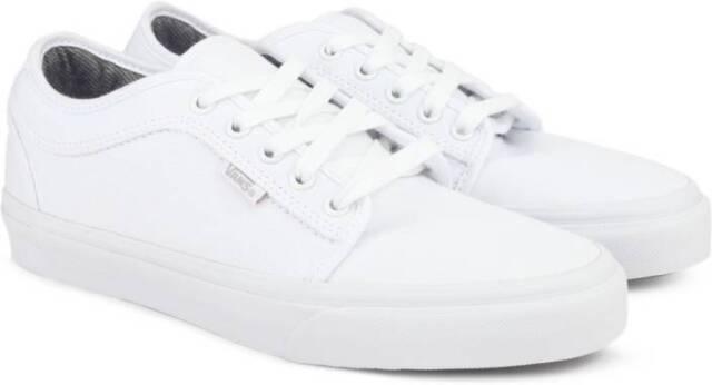 46553ddcd5 VANS Chukka Low 10 Oz Canvas White Men s Classic Skate Shoes Size ...