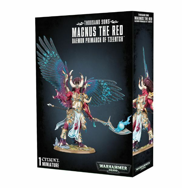 Warhammer 40K - Thousand Sons - Magnus the Red - Brand New - Free Shipping