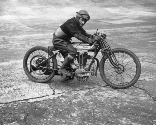 169-L 1925 NORTON RACING MOTORCYCLE Photo