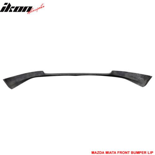 Fits 06-08 Mazda MX-5 Miata MX5 GV 2Dr PU Front Bumper Lip Spoiler Body Kit