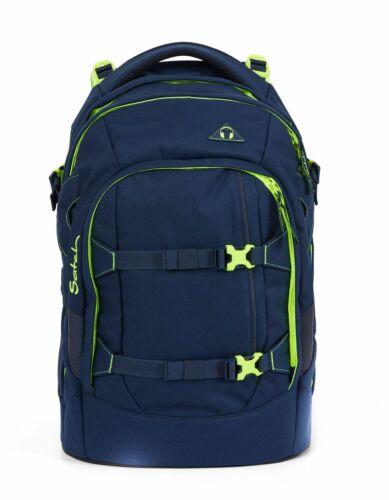satch Pack Schulranzen Rucksack Schulrucksack Tasche Toxic Yellow Blau Gelb