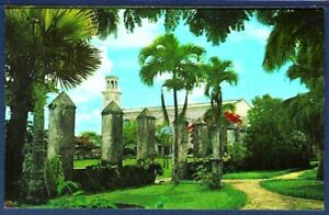 Dulce Nombre De Maria Cathedral And Old Spanish Wall Agana Guam U S A Ebay