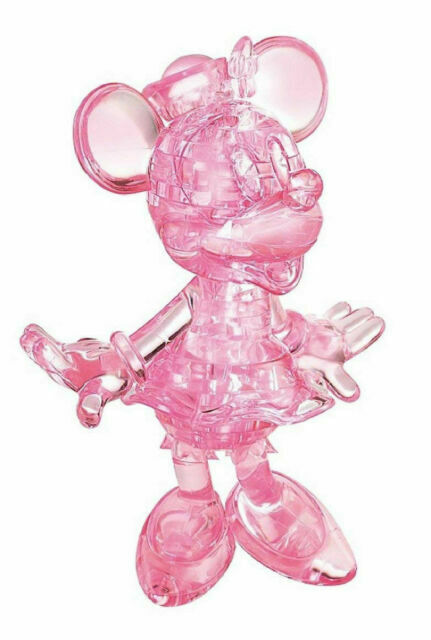 Crystal Puzzle Minnie Mouse