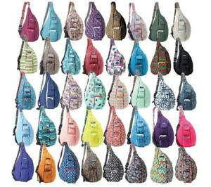 NEW-KAVU-ROPE-BAG-SLING-COLORS-UPDATED-SLING-MESSENGER-CANVAS-BACKPACK-FREE-SHIP