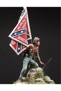 Confederate-Standard-Bearer-at-Battle-of-Gettysburg-Tin-Painted-Toy-Soldier-Art