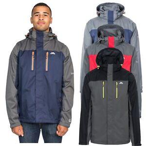 Trespass-Mens-Waterproof-Jacket-Hooded-Rain-Coat-For-Hiking-Walking