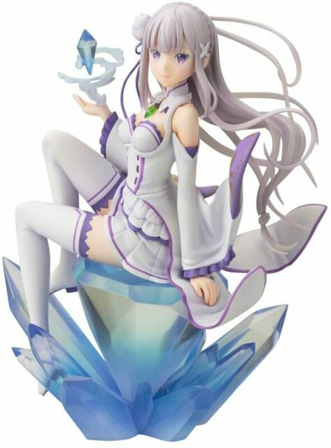 Re:Zero Starting Life in Another World EMILIA 1/8 PVC Figure Kotobukiya NEW F/S