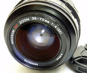 Minolta-Maxxum-35-70mm-f4-AF-Lens-Sony-A-mount-constant-aperture-zoom-tested
