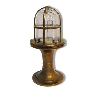 Solid antique brass exteriorgardenoutdoor post light complete with image is loading solid antique brass exterior garden outdoor post light aloadofball Image collections