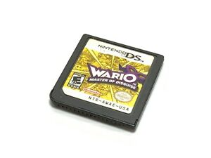 Wario-Master-Of-Disguise-Nintendo-DS-Free-Tracked-Postage