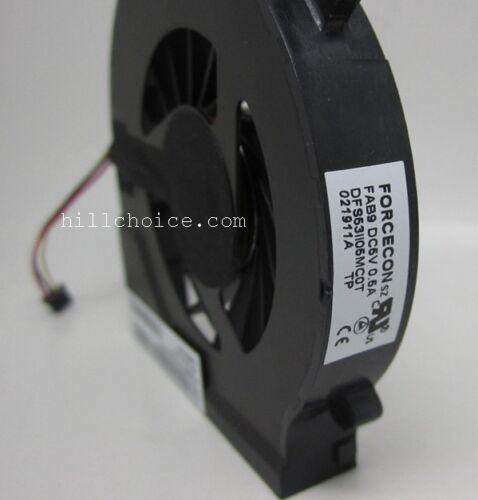 CPU Cooling Fan For HP Compaq Presario CQ56 Laptop DFS531105MC0T FAB9 646578-001