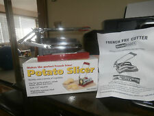 Stainless Steel French Fry Potato Cutter  Slicer Chopper Dicer