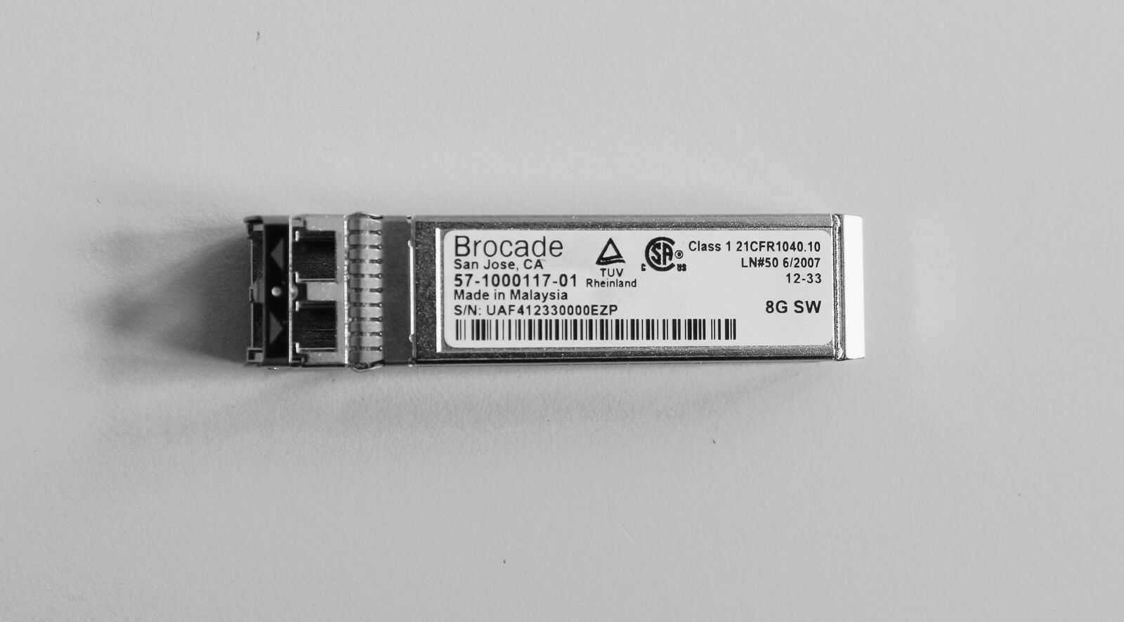 Sfp Brocade 57 1000117 01 8gb Up To 10gb Modulo Fibra Ottica Ebay Rescontentglobalinflowinflowcomponenttechnicalissues