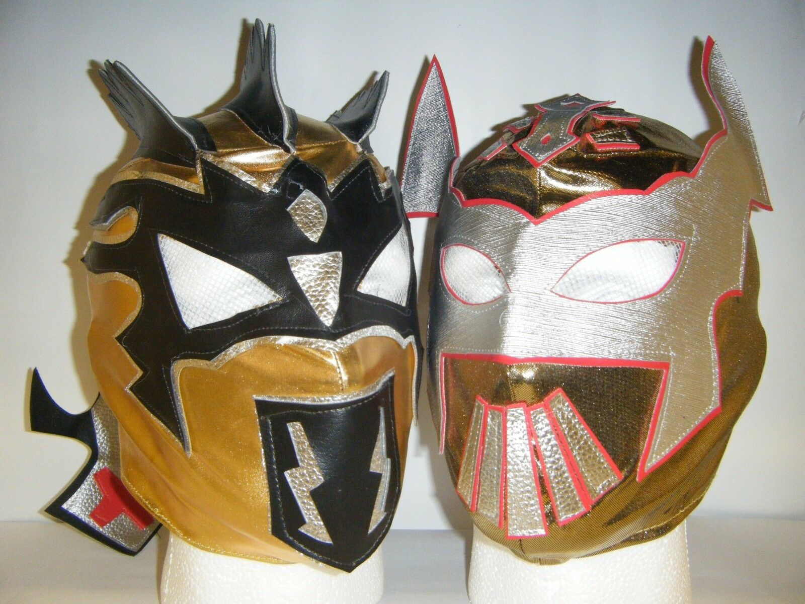 Sin Cara & Kalisto para Niños Máscara de Lucha Libre Disfraz Lucha Dragones Wwe