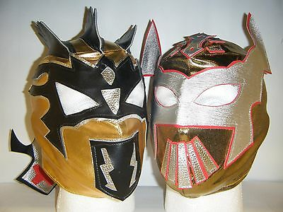Sin cara /& kalisto enfants catch masque déguisement lucha dragons WWE