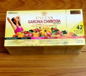 Hyleys Garcinia Cambogia Assorted Tea Collection 6 Flavors 42 Tea