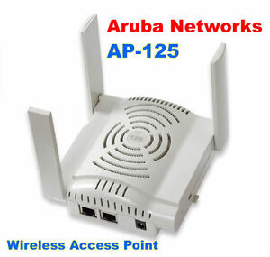 Aruba Networks AP-125 Dual-Radio Wireless Access Point 802.11n W ...