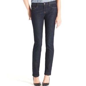 J-Crew-Women-039-s-Size-29-Short-Dark-Wash-Matchstick-Jeans