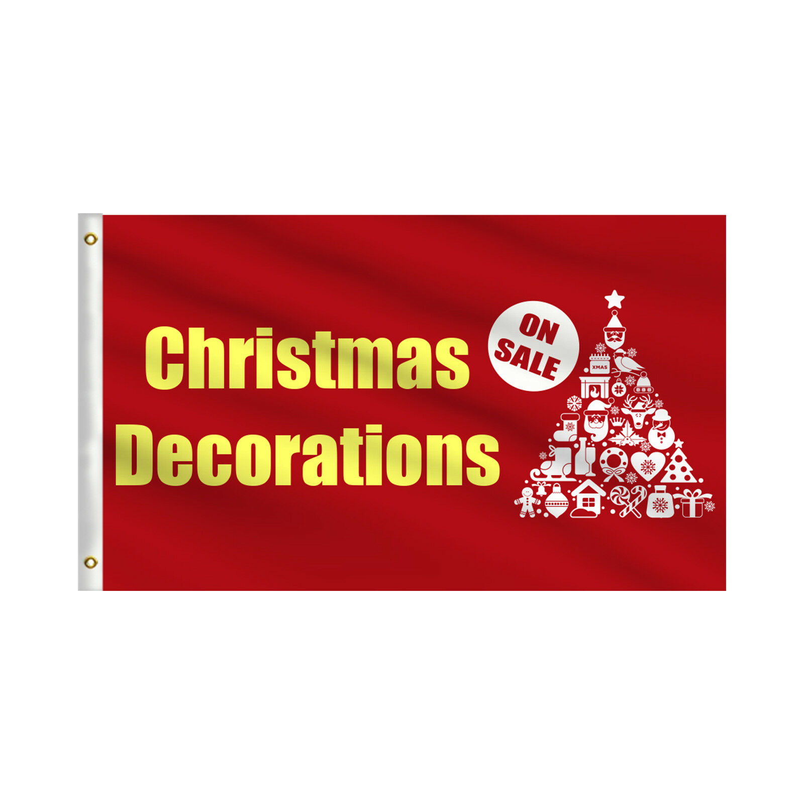 Christmas Decoration On Sale AdGrünising Outdoor Business Rectangle Flag 3' X 5'