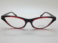 NEW Authentic ALAIN MIKLI A0 3005 B09N Black/Red 57mm Eyeglasses