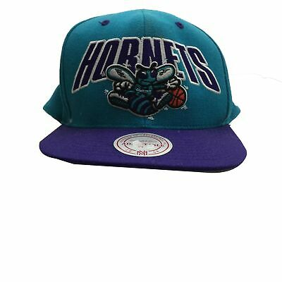 new product biggest discount amazing price Charlotte Hornets Mitchell & Ness Hardwood Classics Hat Cap ...