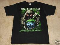 Disturbed Toxic Globe S, M, L, Xl, 2xl Black T-shirt