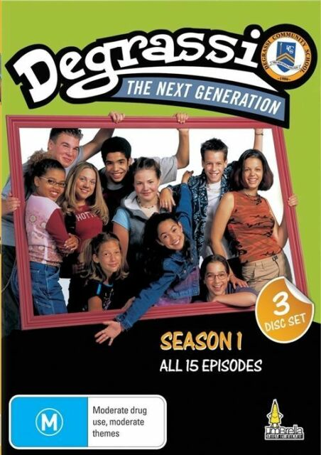 Degrassi - The Next Generation : Season 1 (DVD, 2010 3-Disc Set) NEW SEALED (c3)
