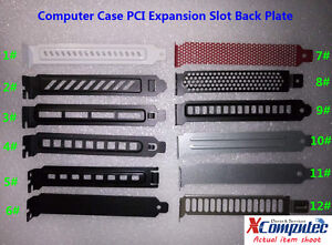 3pcs-PC-Case-PCI-Expansion-Slot-Back-Plate-Cover-Dust-Filter-Steel-Blank-Multi