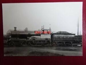 PHOTO  DARKROOM - LMS EX LNWR GEORGE V CLASS LOCO NO 5333 DRAKE
