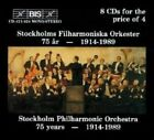 Various Composers 75 Years of The Stockholm Philharmonic Orchestra
