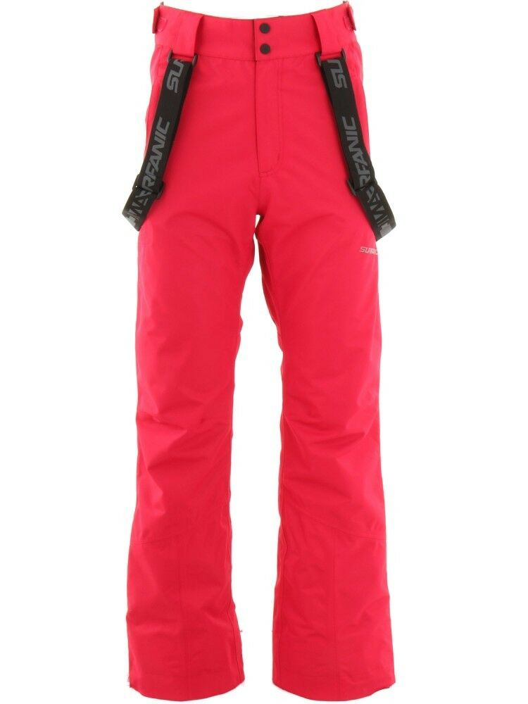 SURFANIC CONTROL SURFTEX SKI PANTS SNOWBOARDING 8K RATING RED 36 W LARGE