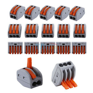 20x-2-3-5-Way-Reusable-Spring-Lever-Terminal-Block-Electric-Cable-Connector-Wire