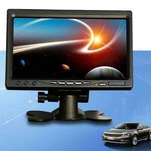 2-Channel-7-Inch-TFT-LCD-Color-Car-Rear-View-Headrest-Monitor-DVD-VCR-Monitor-UP