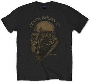 Official-Black-Sabbath-T-Shirt-Mens-black-1978-US-Tour-Vintage-Style-Rock-Metal