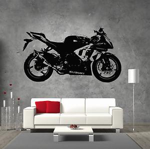 Suzuki-GSX1000R-Vinyl-Sticker-Wall-Art-Boys-Bedroom-Garage