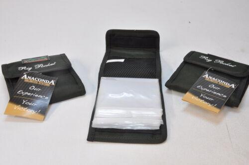 Anaconda Rig Pocket Vorfach Tasche für Haken Angelzubehör 18-KC7704//014