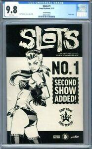 Slots #1  Image Comics  Dan Panosian Sketch Variant  2nd Print  CGC 9.8