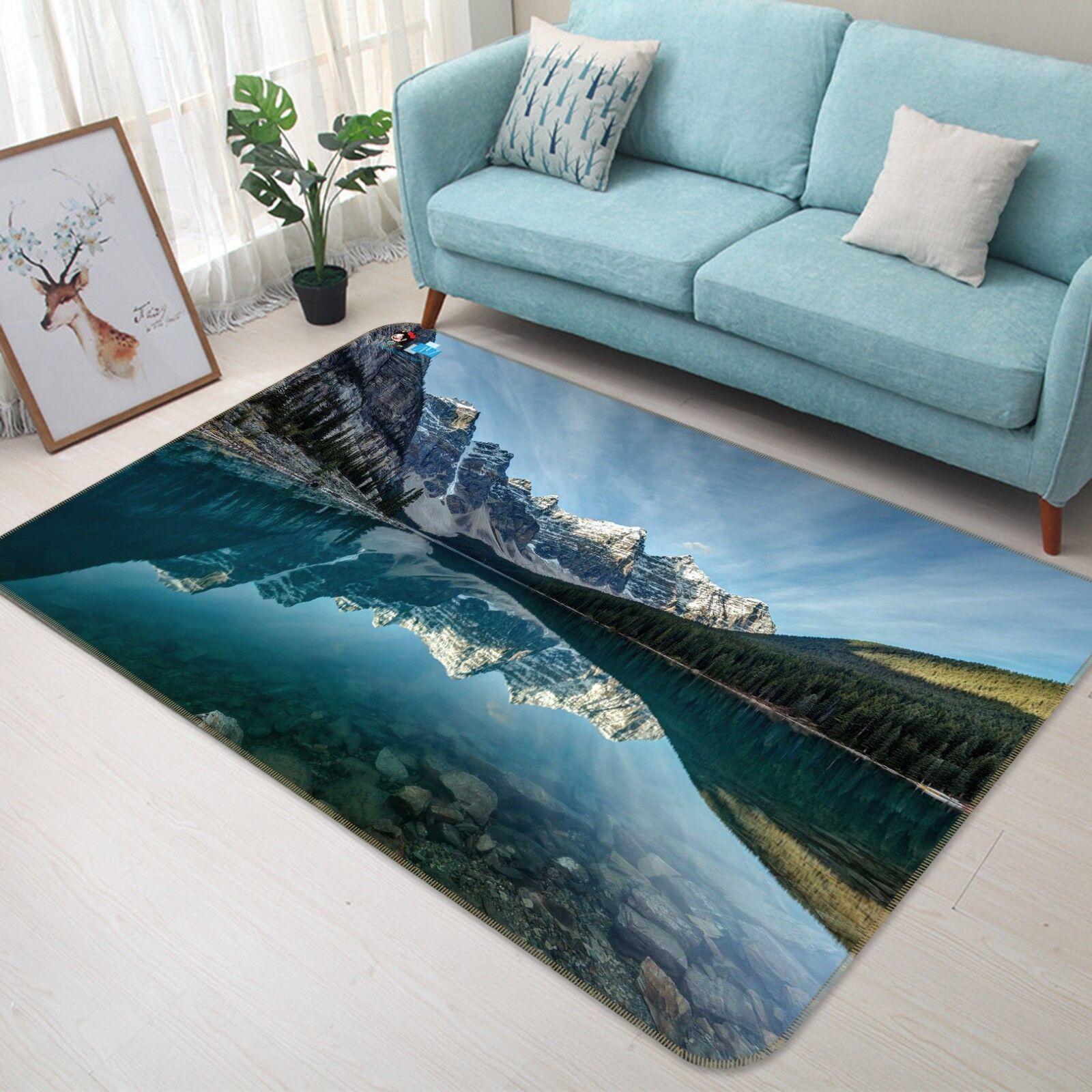 3D Hills Shadow 258 Non Slip Rug Mat Quality Elegant Photo Carpet US Cobb