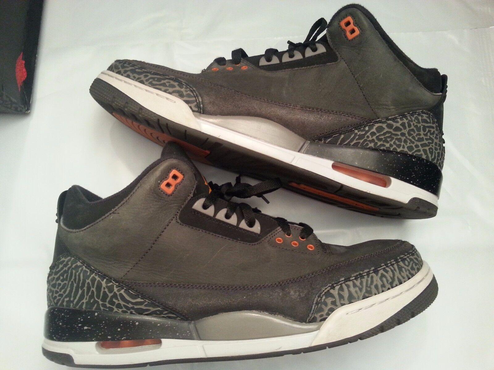 2018 cómodo Nike Air Jordan 3 retro temor cómodo 2018 barato y hermoso moda 77b1d7