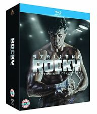ROCKY HEAVYWEIGHT COLLECTION 6 FILMS 6 DISCS BLU RAY BOXSET REG B Express Post