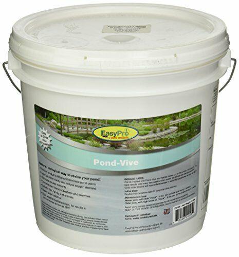 Biological Pond Water Treatment to rotuce Sludge Buildup & Odors (8oz)