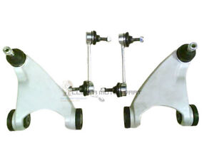 BUSHES NEW ALFA 147 156 GT FRONT SUSPENSION 2 LOWER WISHBONE ARMS BALL JOINT
