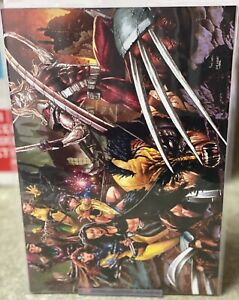WOLVERINE-5-MICO-SUAYAN-FULL-COVER-EXCLUSIVE-VIRGIN-VARIANT-NM-Sold-Out