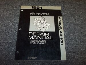 1991 toyota camry a540e a540h transmission workshop shop service rh ebay com Service Manuals 02 Mazda Protege5 Repair Manuals
