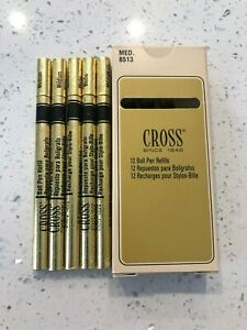CROSS-Ballpoint-Pen-Refills-AUTHENTIC-5-Blue-units-8513-Medium-New